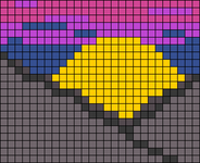 Alpha pattern #85706