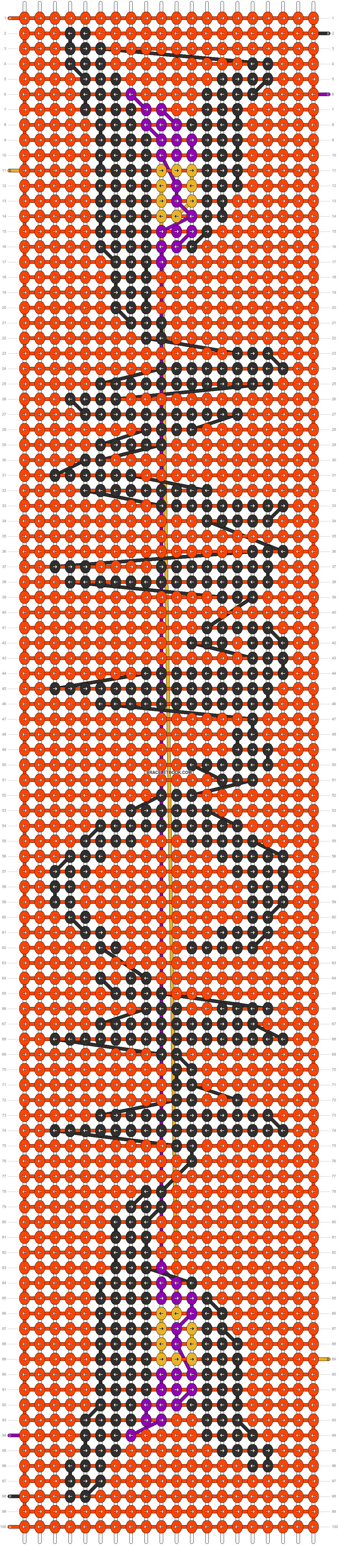 Alpha pattern #85711 pattern