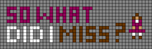 Alpha pattern #85717