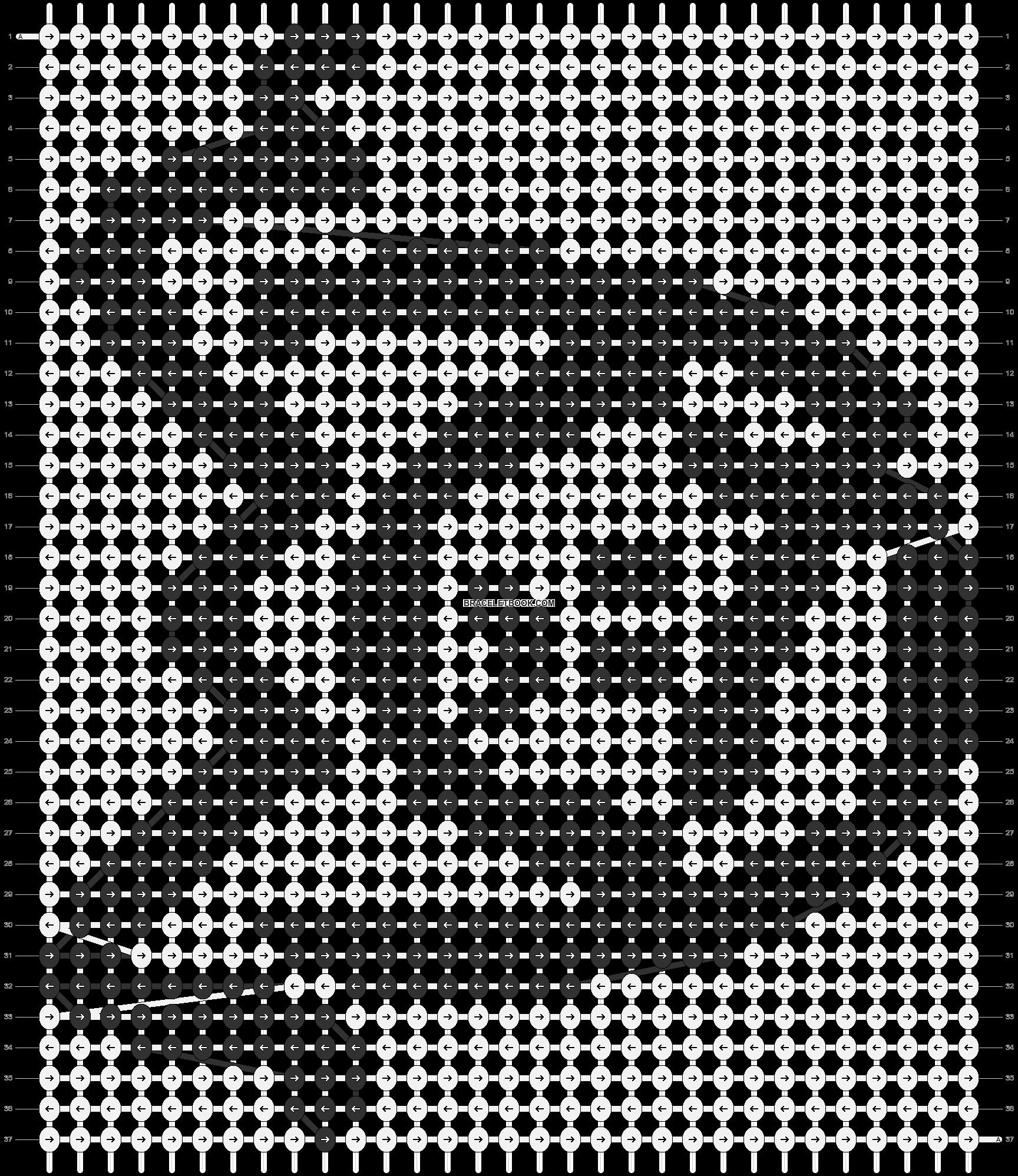 Alpha pattern #85722 pattern