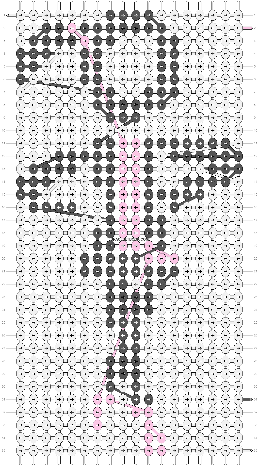Alpha pattern #85723 pattern