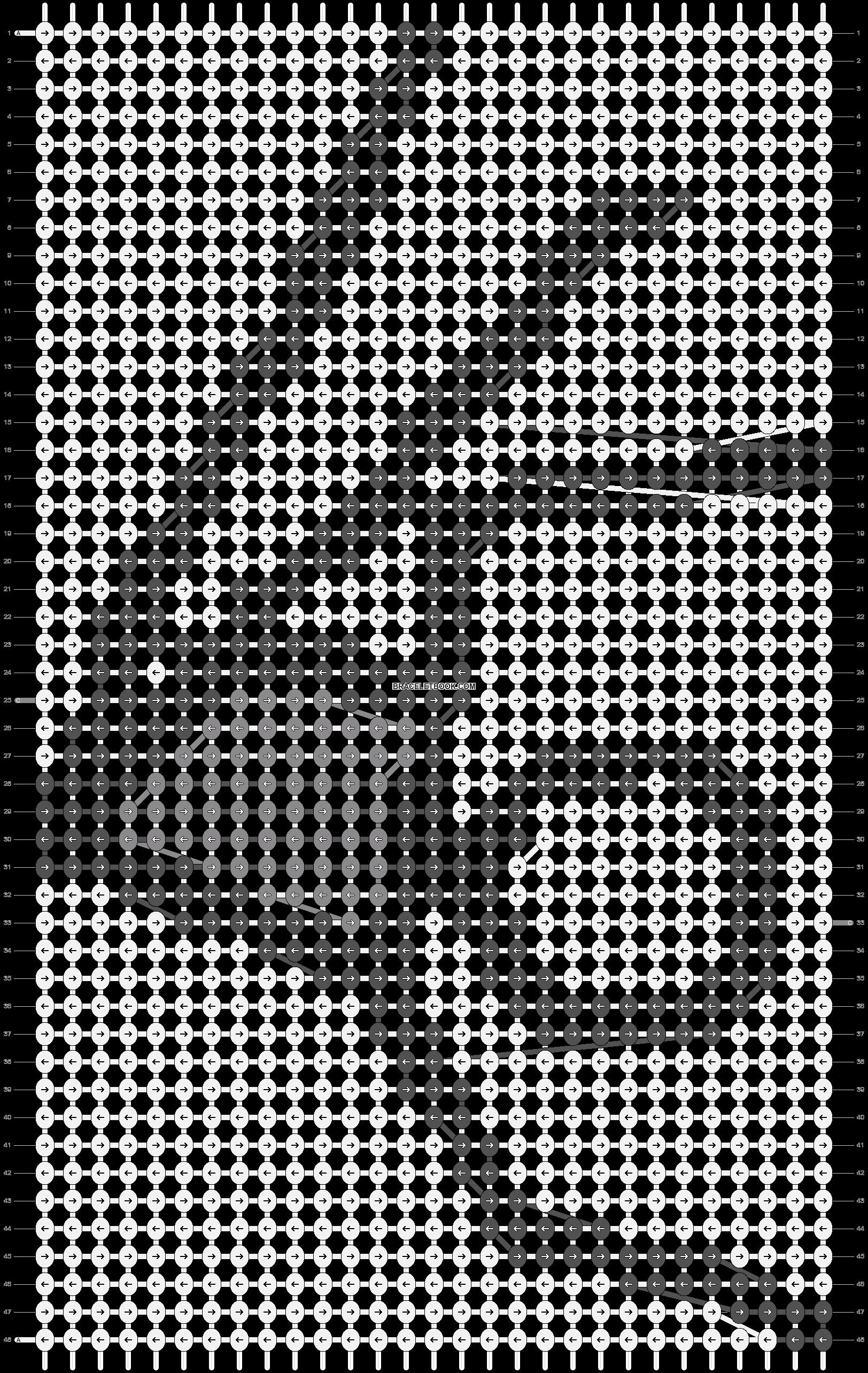 Alpha pattern #85732 pattern