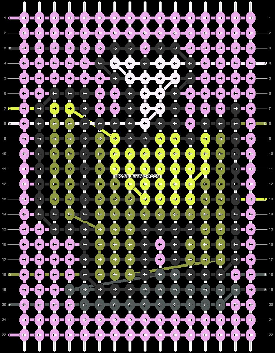 Alpha pattern #85747 pattern