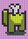 Alpha pattern #85747