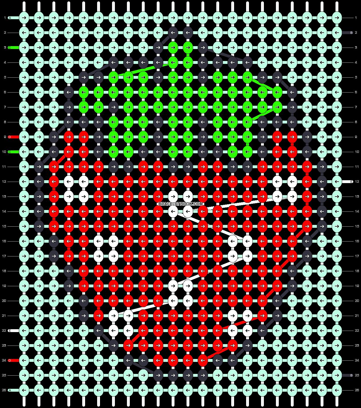 Alpha pattern #85757 pattern