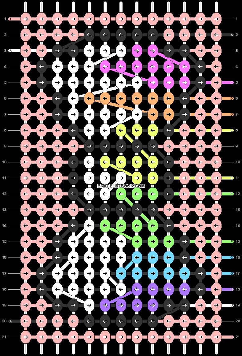 Alpha pattern #85758 pattern
