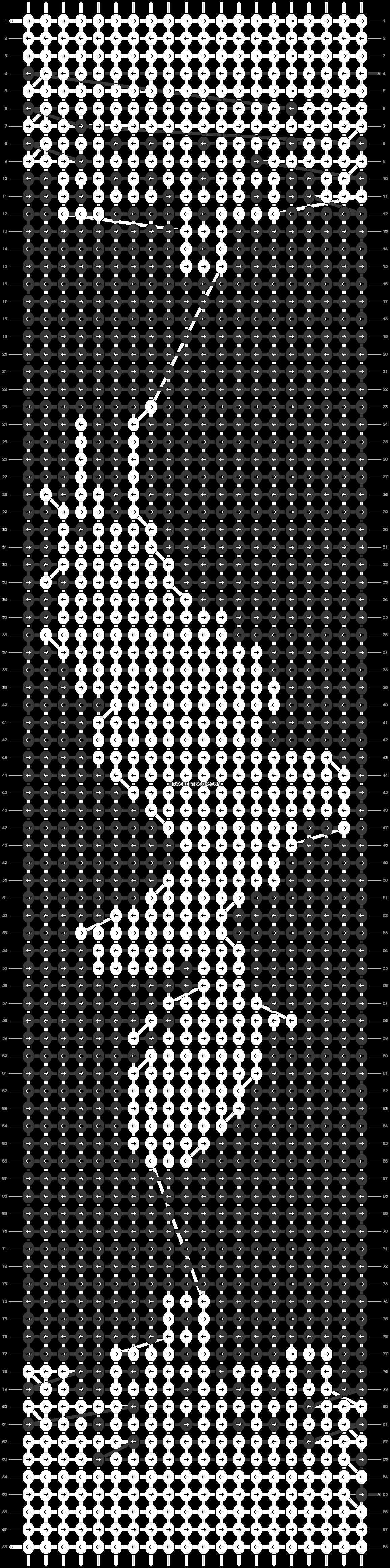 Alpha pattern #85762 pattern