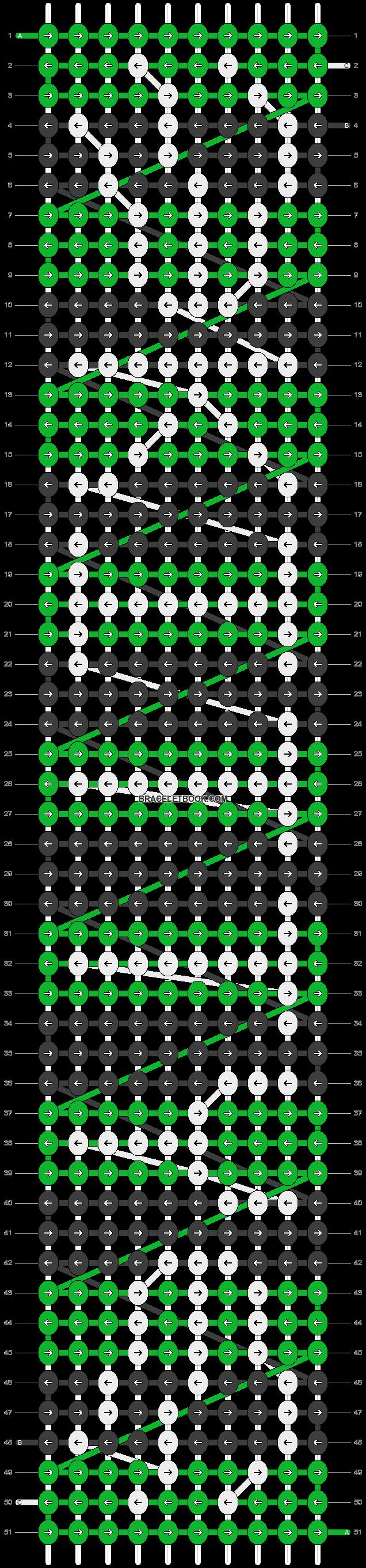Alpha pattern #85764 pattern