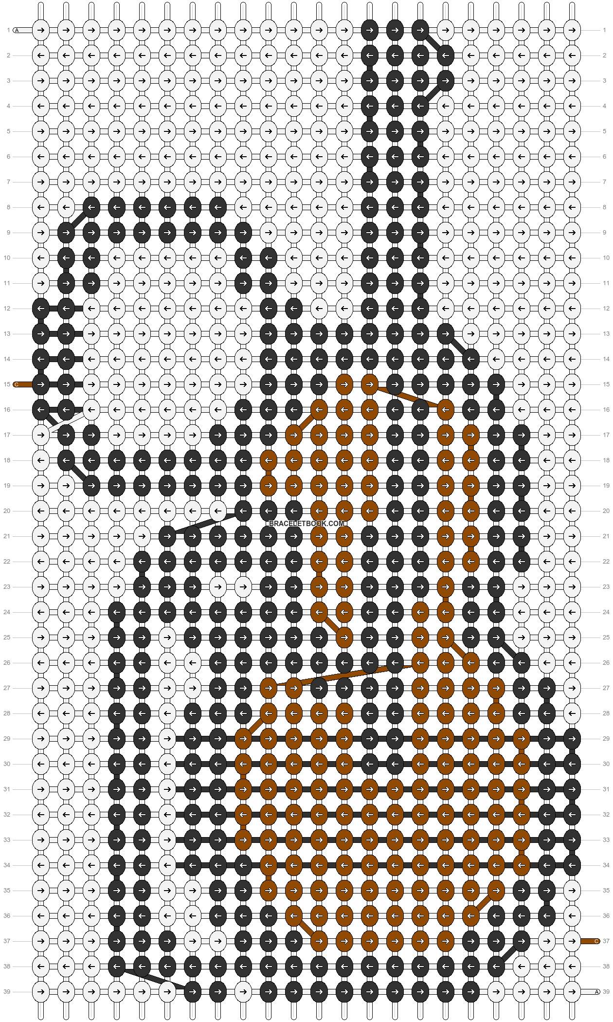 Alpha pattern #85782 pattern
