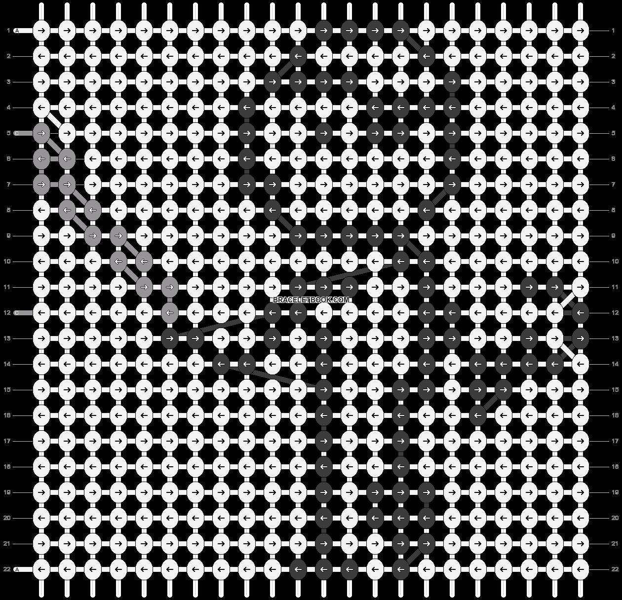 Alpha pattern #85790 pattern