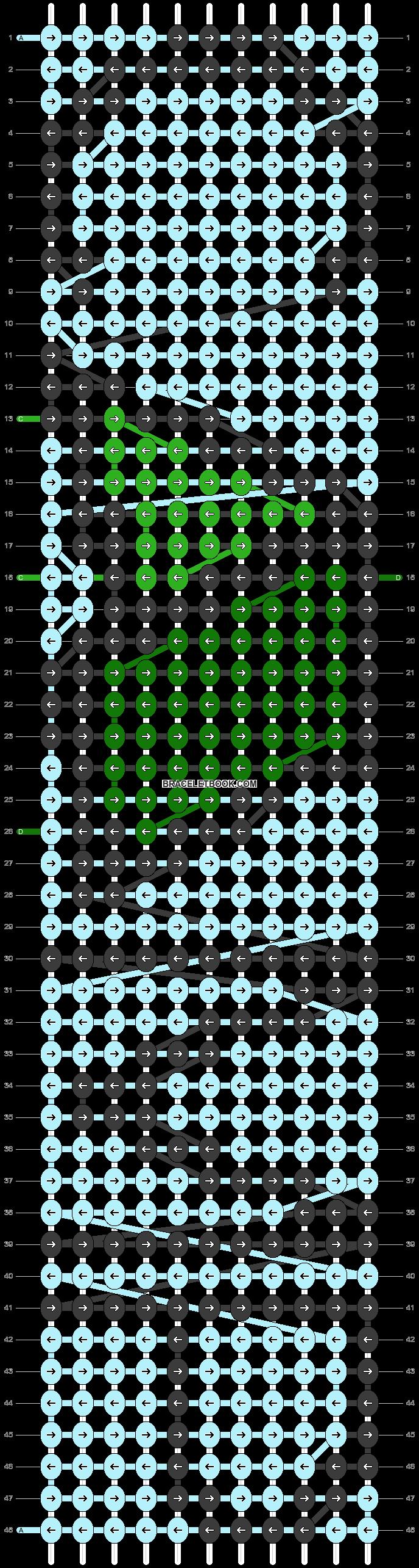 Alpha pattern #85791 pattern