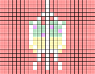 Alpha pattern #85825