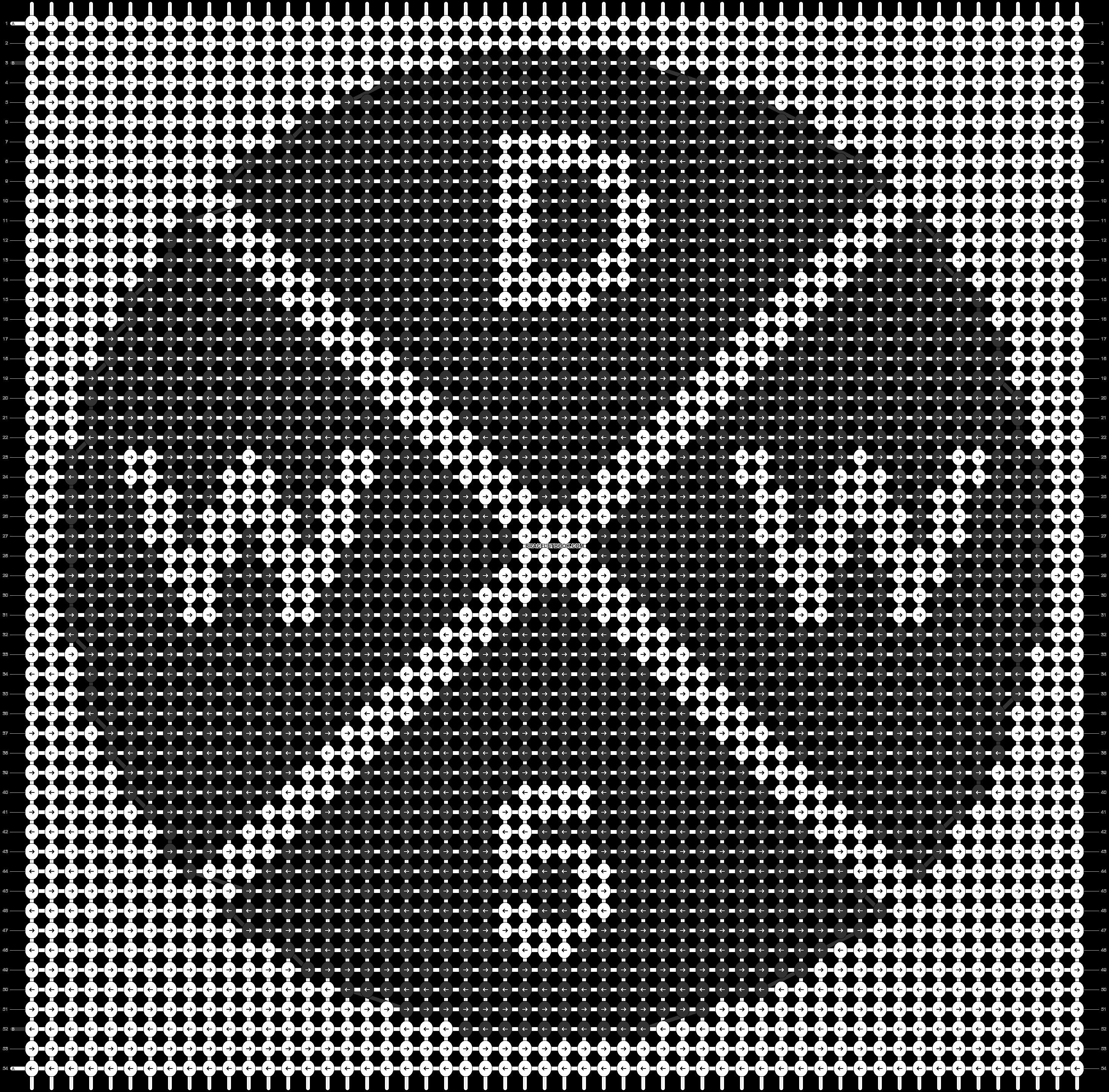 Alpha pattern #85886 pattern