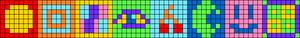Alpha pattern #85905
