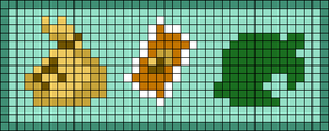 Alpha pattern #85934