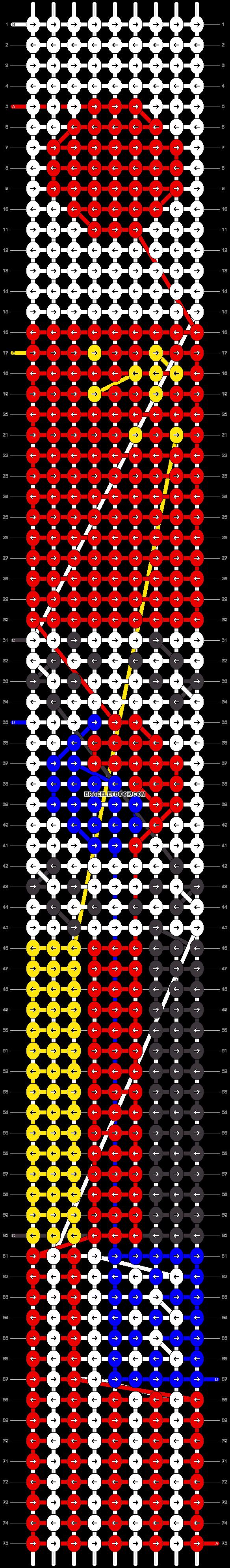 Alpha pattern #85951 pattern