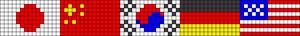 Alpha pattern #85951