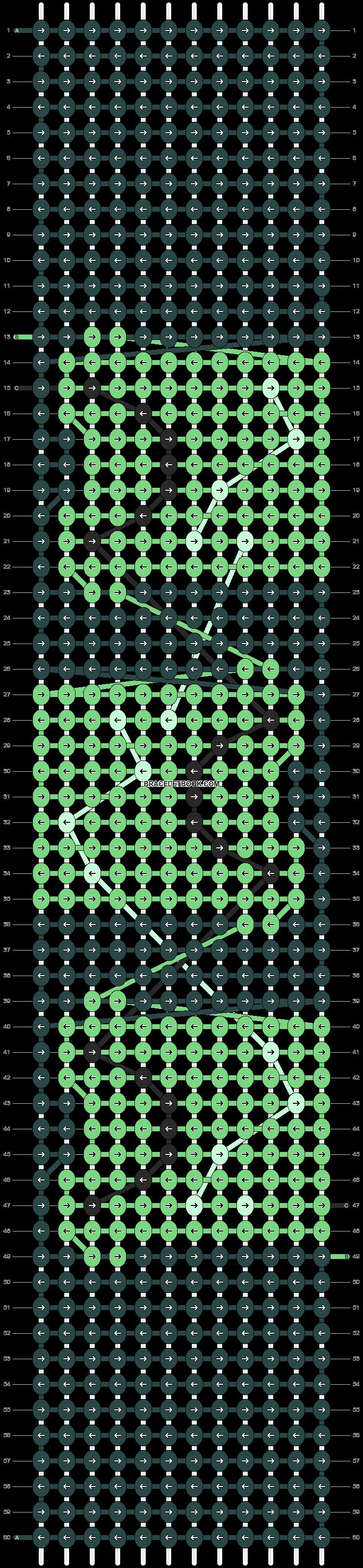 Alpha pattern #85952 pattern
