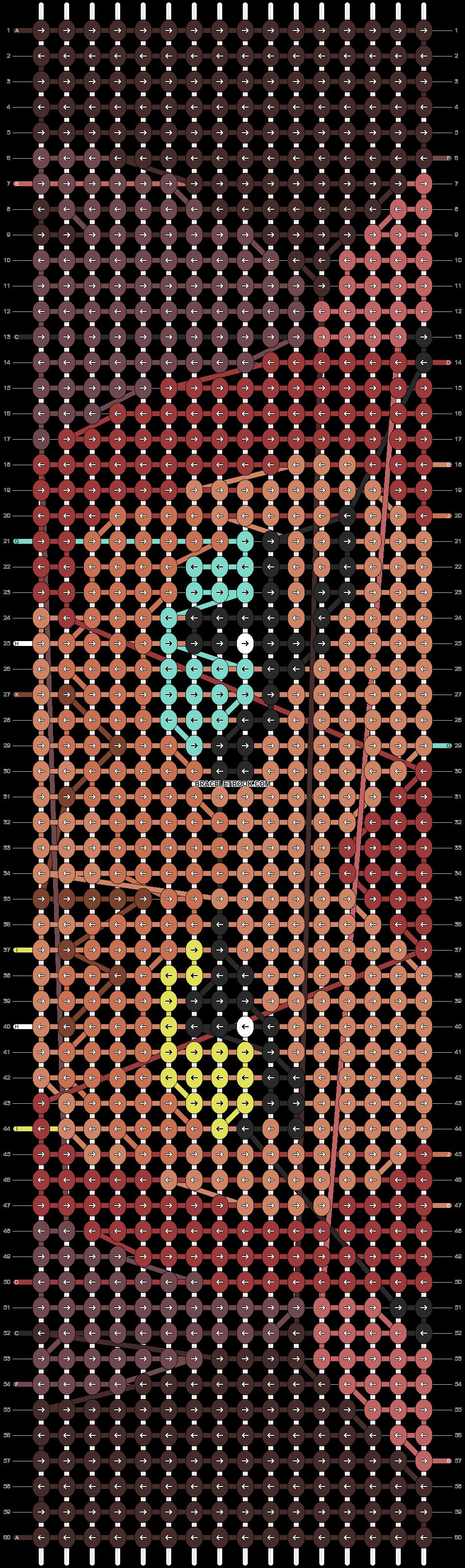 Alpha pattern #85954 pattern