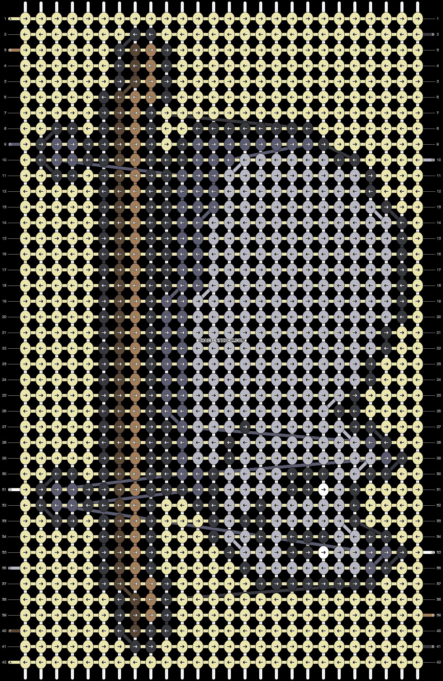 Alpha pattern #85956 pattern