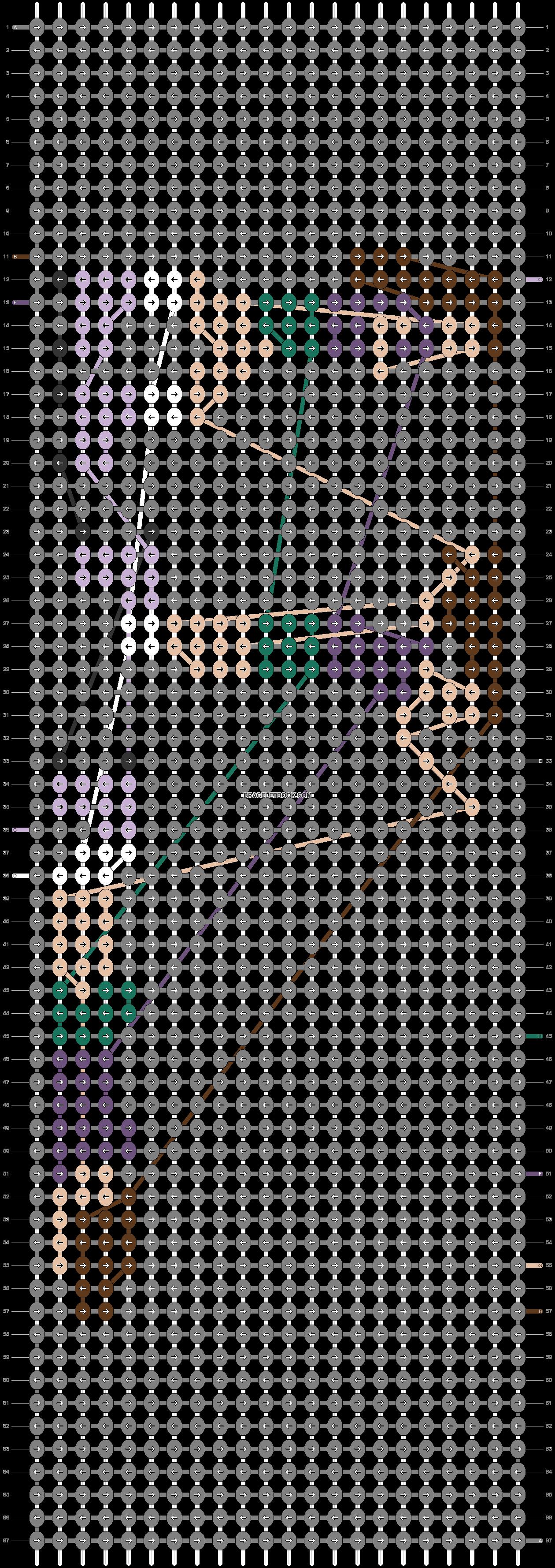 Alpha pattern #85985 pattern