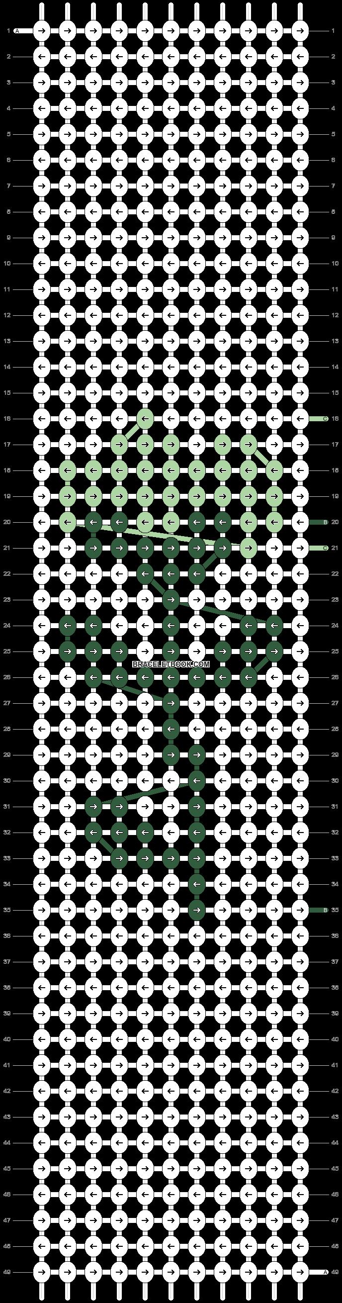 Alpha pattern #85987 pattern