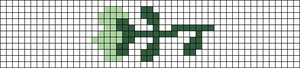 Alpha pattern #85987