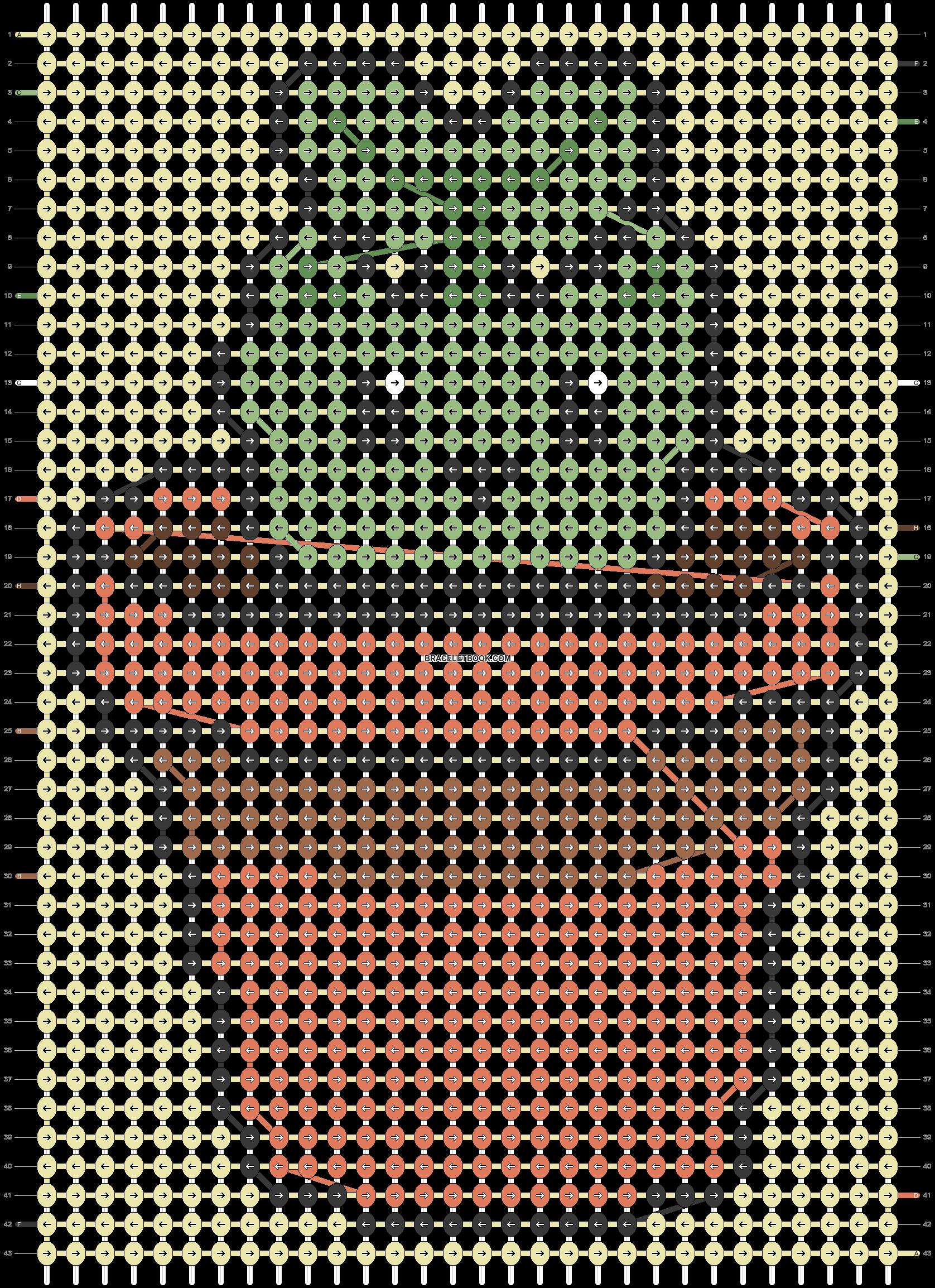 Alpha pattern #85998 pattern