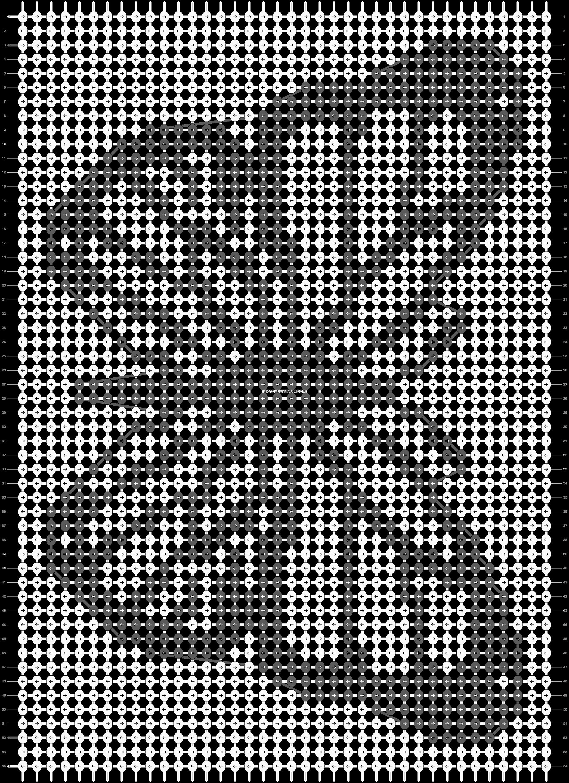 Alpha pattern #86002 pattern