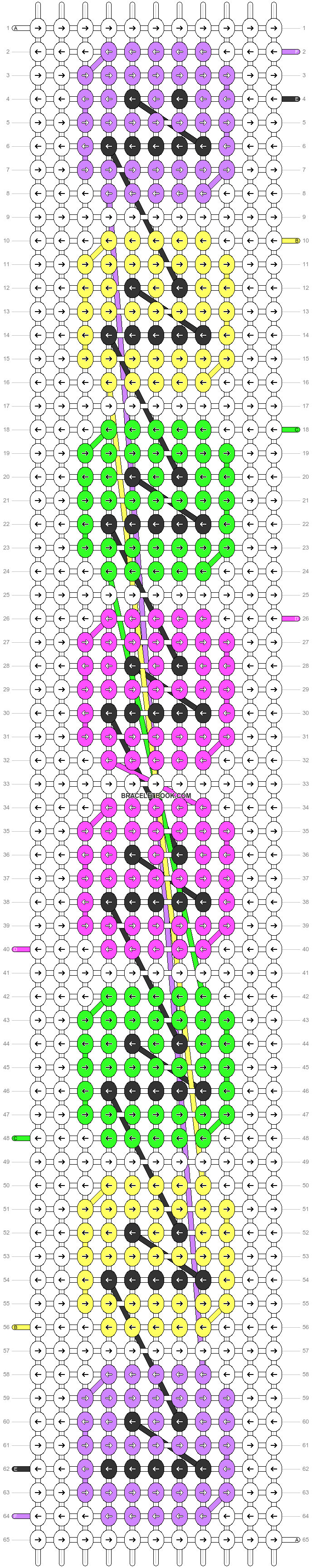 Alpha pattern #86009 pattern