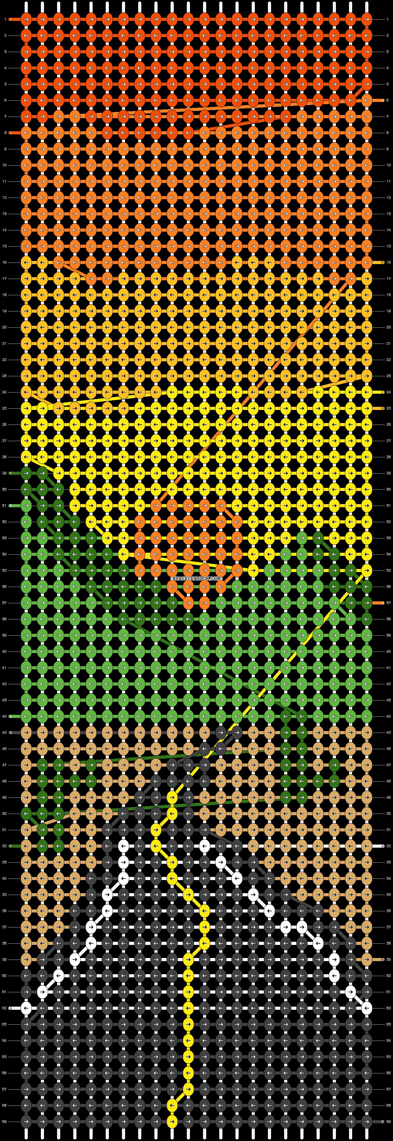 Alpha pattern #86012 pattern