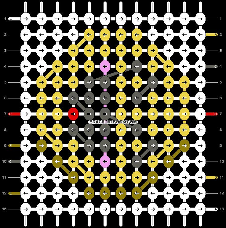 Alpha pattern #86023 pattern