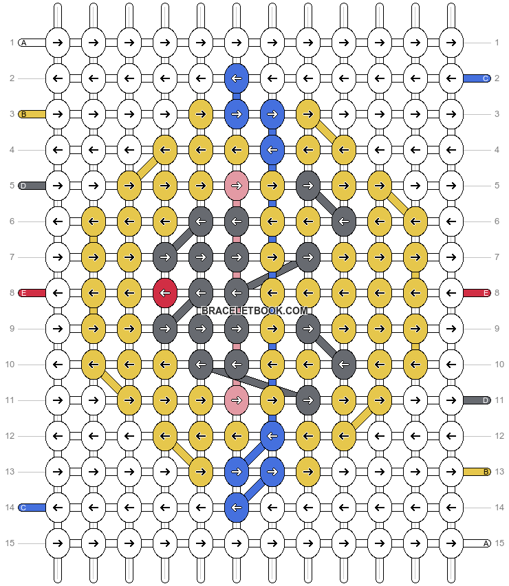 Alpha pattern #86024 pattern