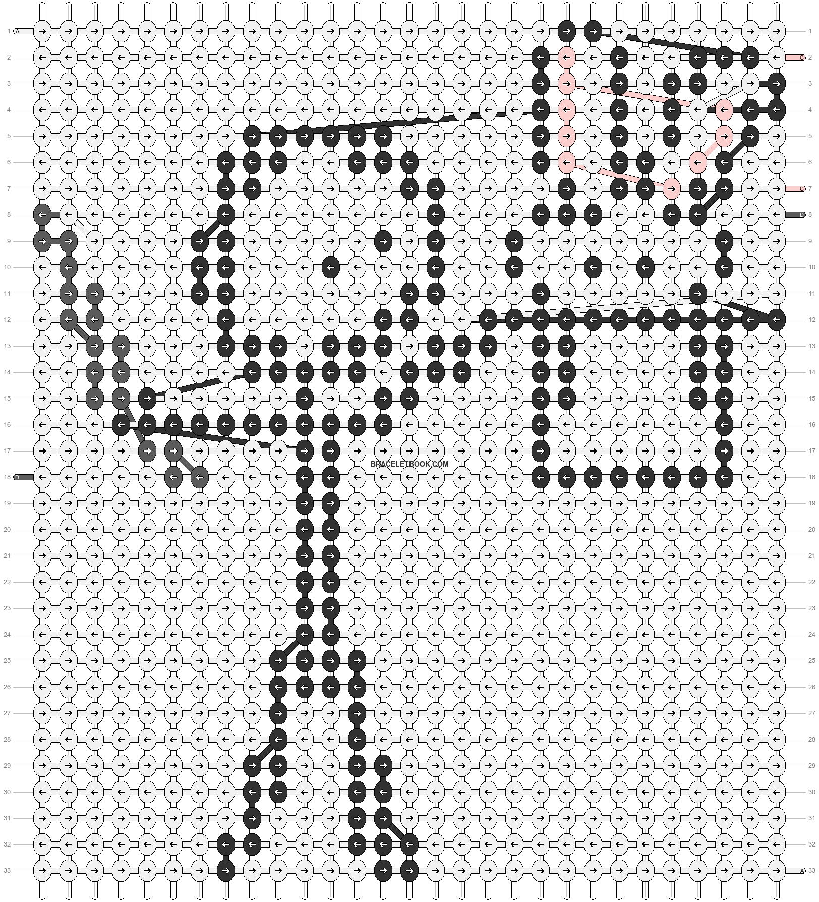 Alpha pattern #86032 pattern
