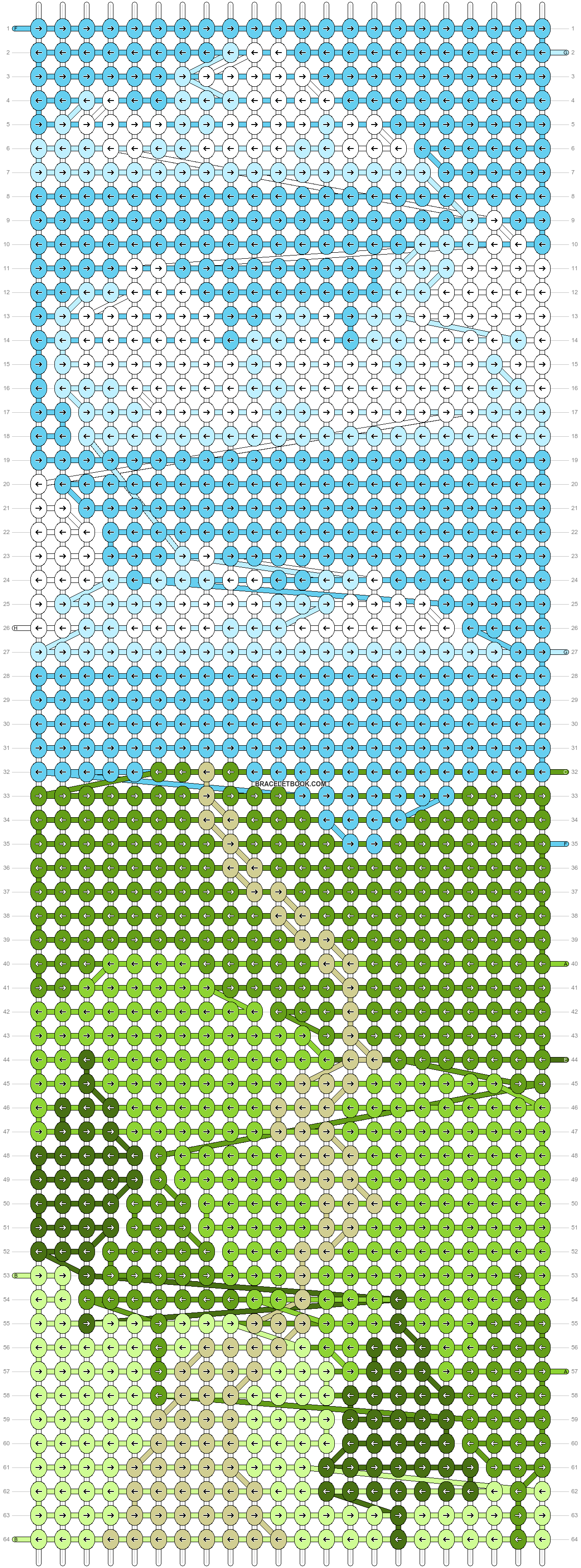 Alpha pattern #86051 pattern