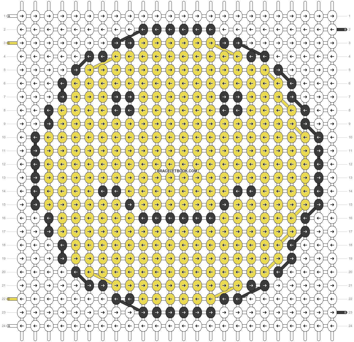 Alpha pattern #86061 pattern