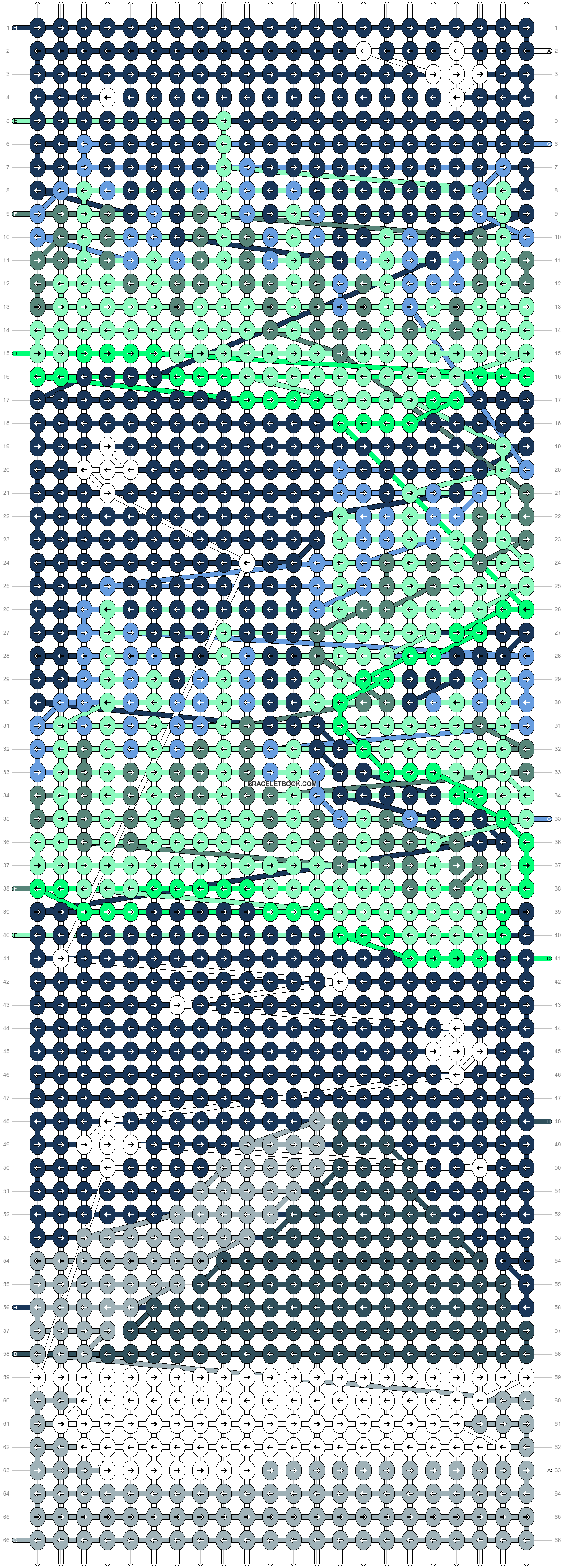 Alpha pattern #86063 pattern