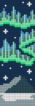 Alpha pattern #86063
