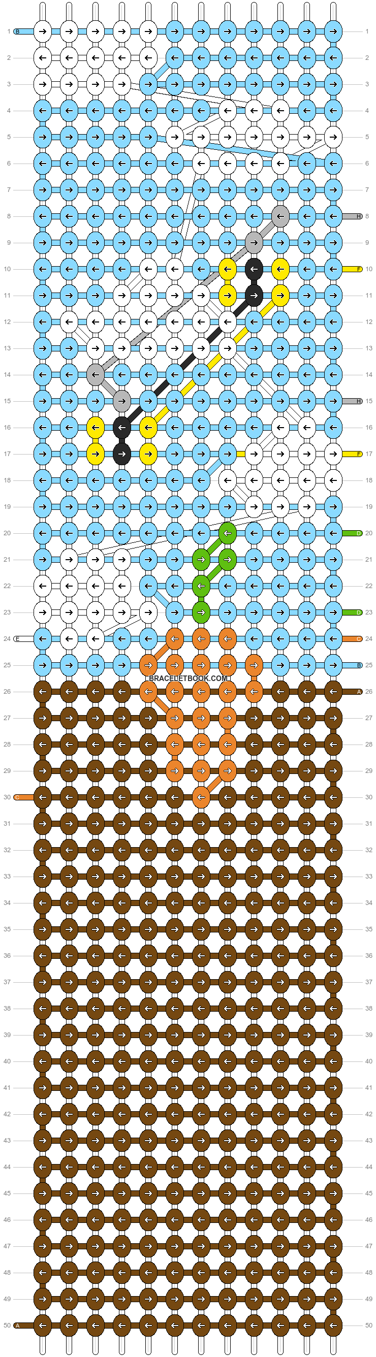 Alpha pattern #86064 pattern