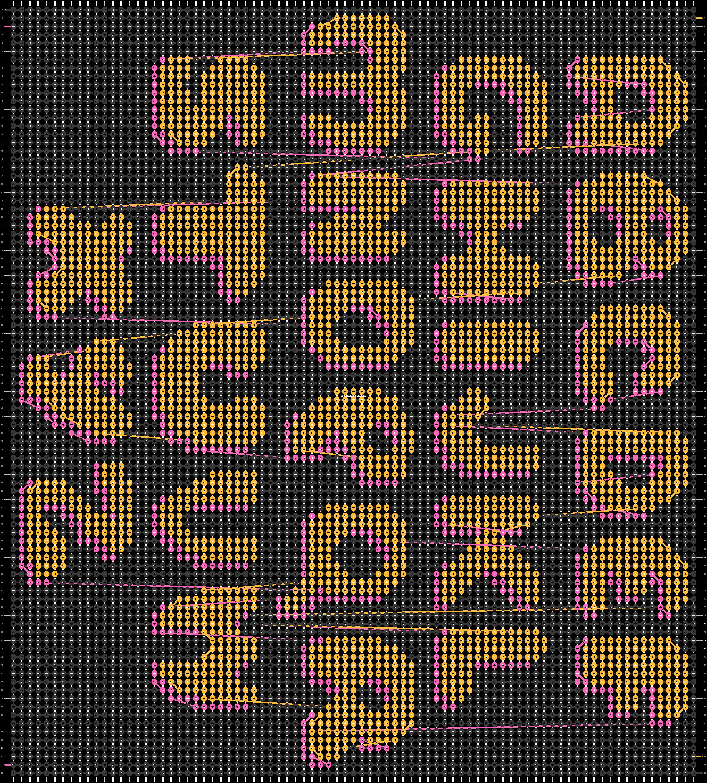 Alpha pattern #86068 pattern