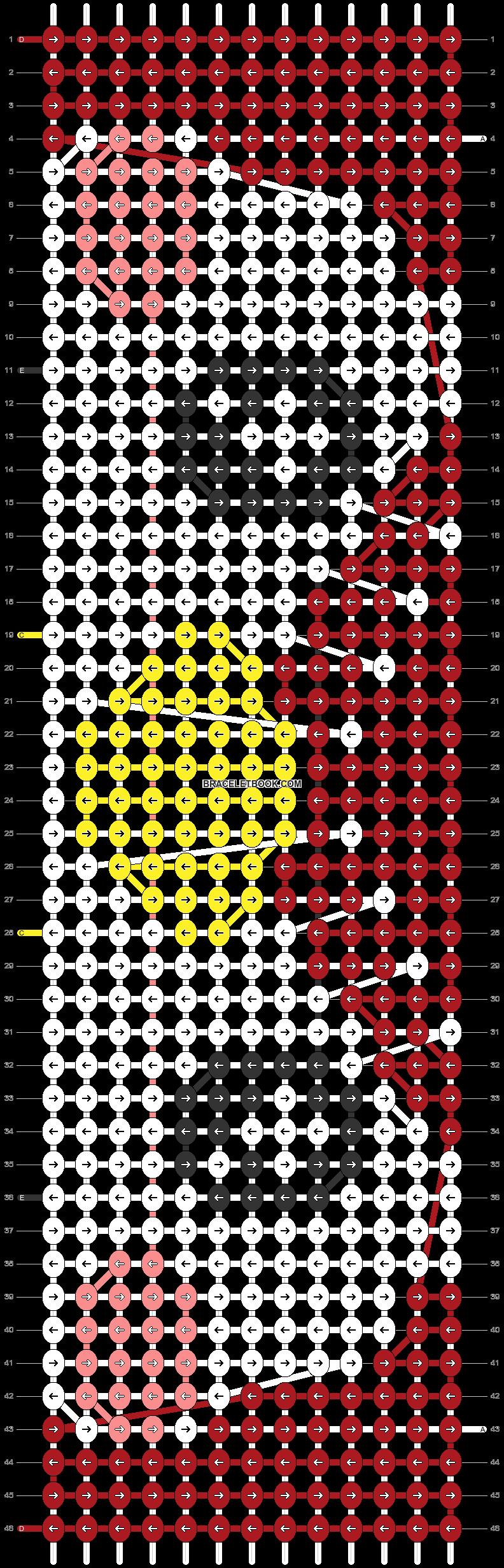 Alpha pattern #86080 pattern