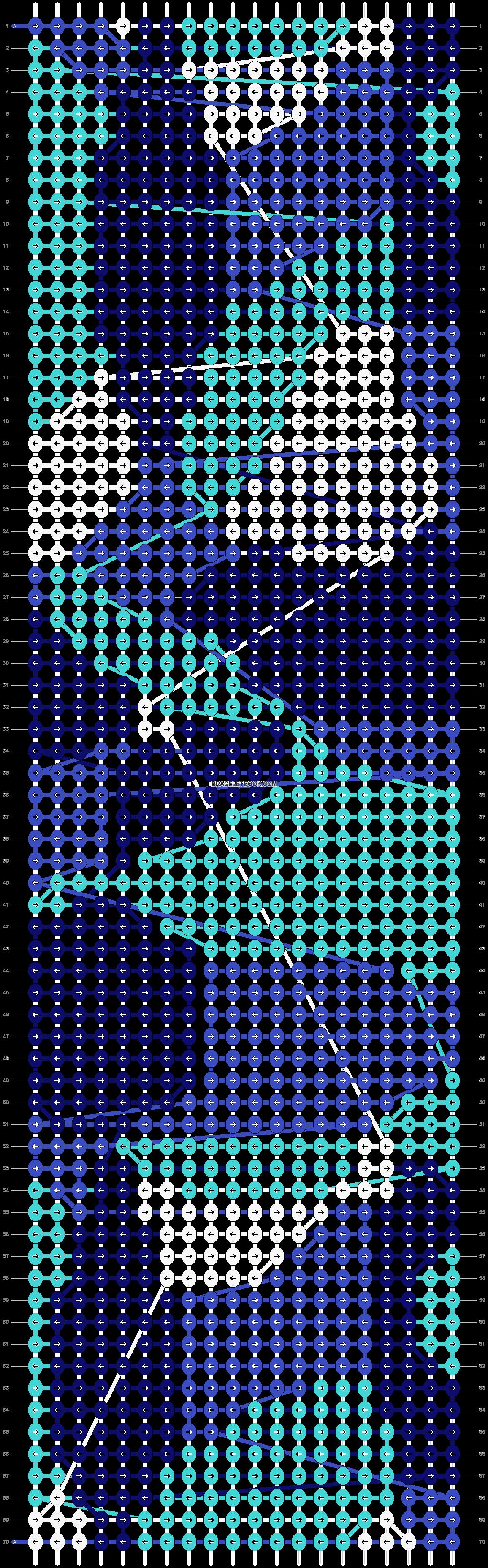 Alpha pattern #86107 pattern