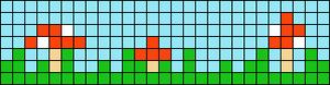Alpha pattern #86122