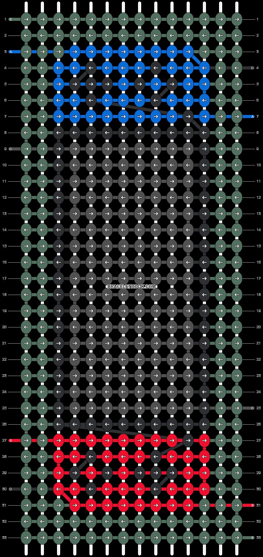 Alpha pattern #86136 pattern