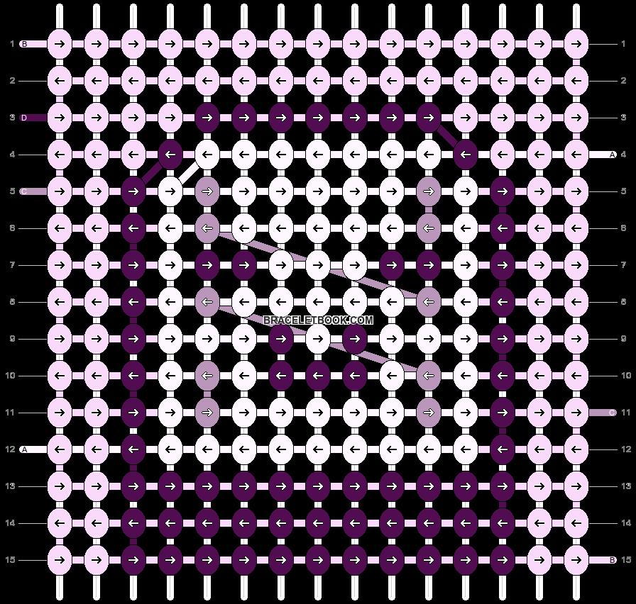 Alpha pattern #86141 pattern