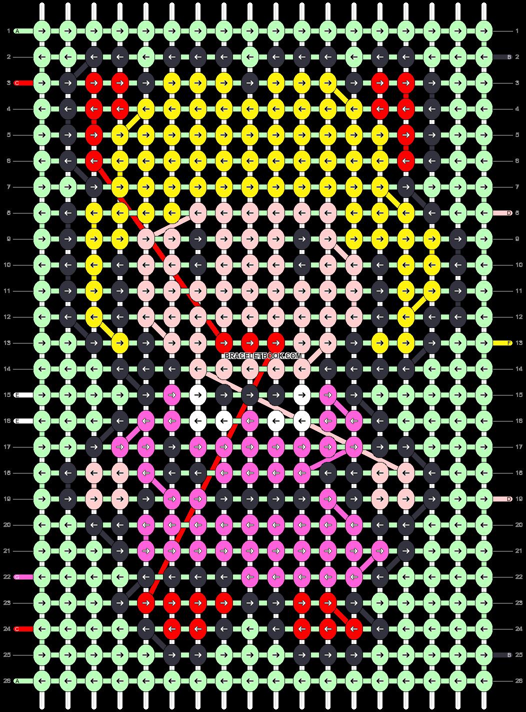 Alpha pattern #86143 pattern