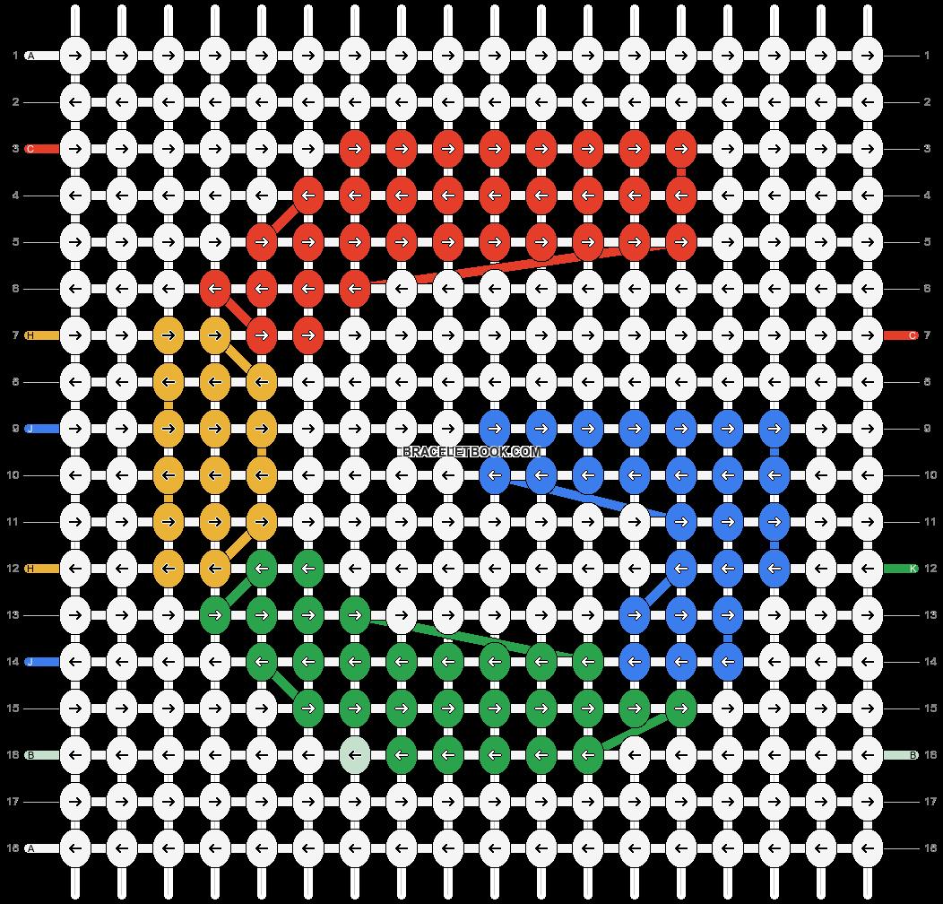 Alpha pattern #86147 pattern