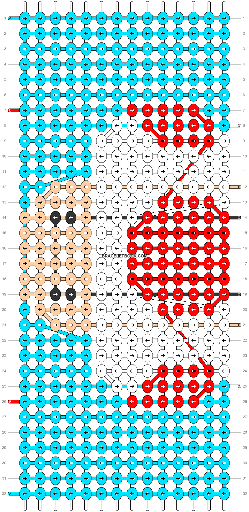 Alpha pattern #86185 pattern