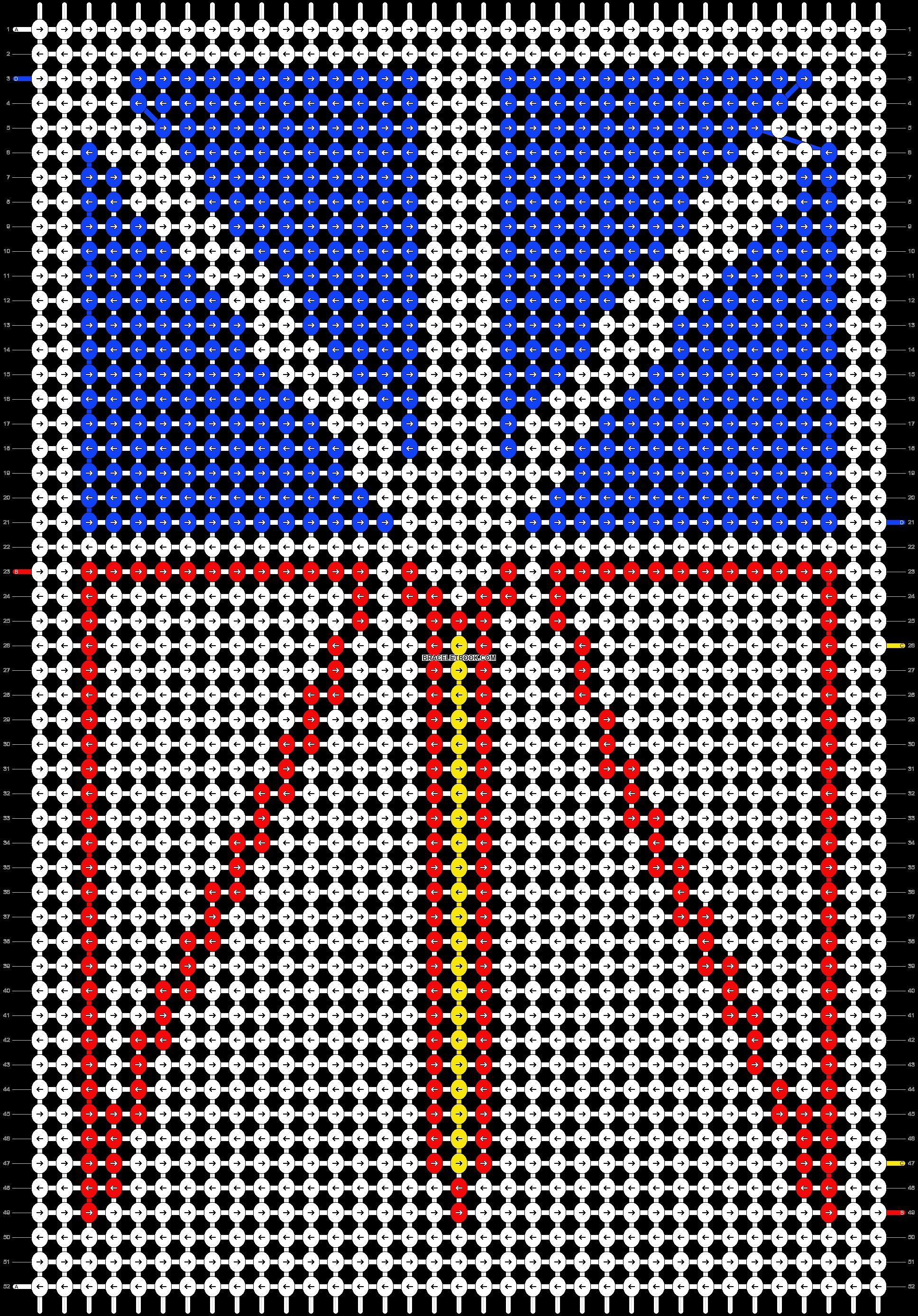 Alpha pattern #86193 pattern