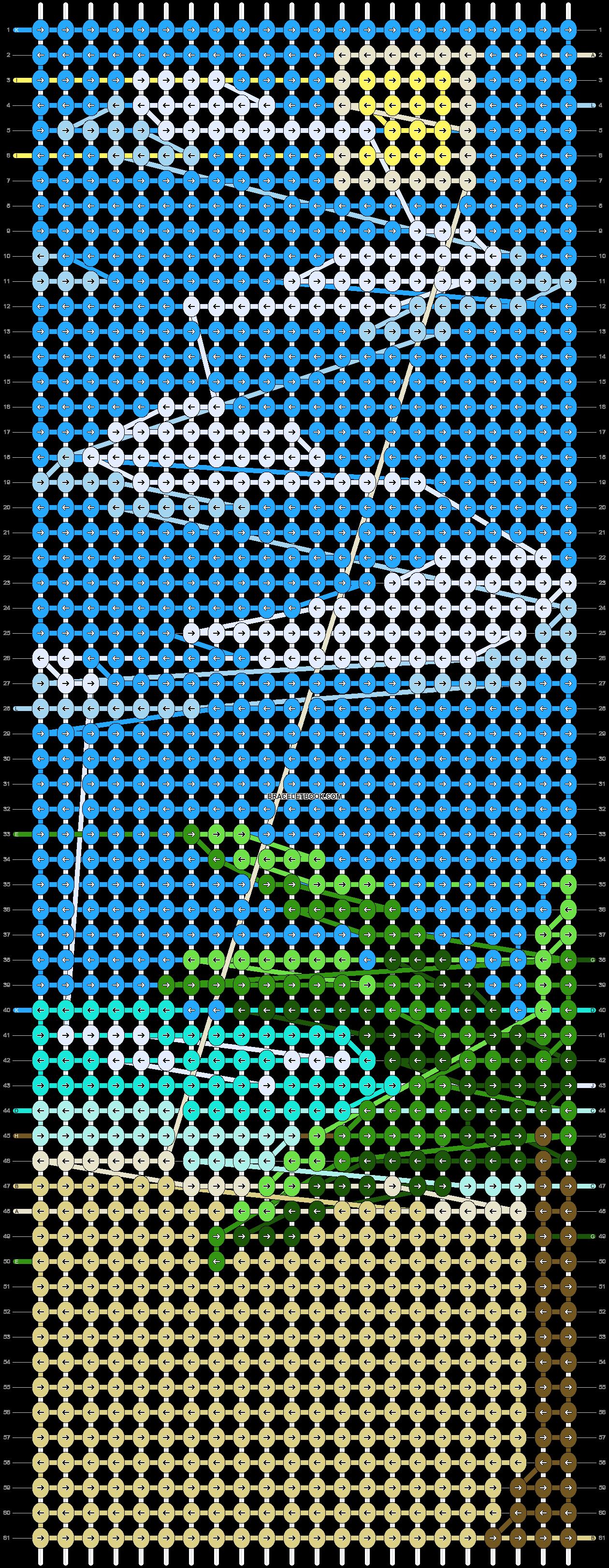 Alpha pattern #86200 pattern